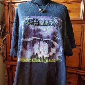 Vintage Metallica Creeping Death band tee